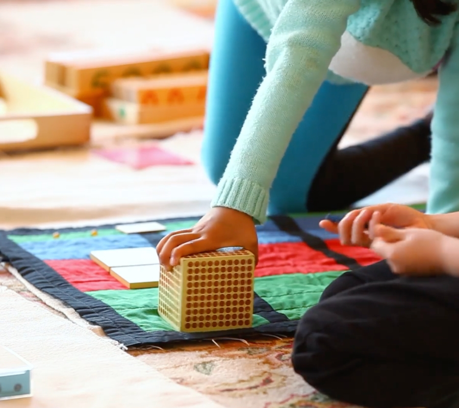 Early childhood Montessori work